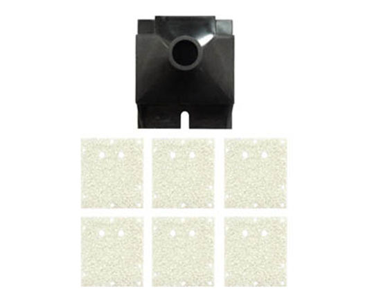 Picture of Blizzard Flushing Box Assy + 6 Sponges - MY-35085