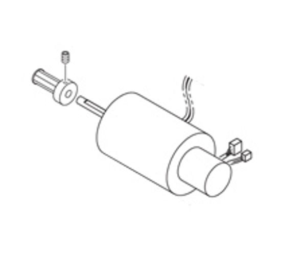 Picture of JV34 X-Axis Motor Assy II - M010166