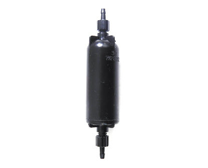 Picture of LJ320P Small Capsule Filter Black 5 micron Luer Hose Barb