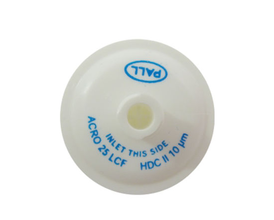 Picture of PALL Acro Disc Filter White 10 micron Luer - LCF-12100