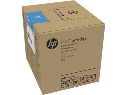 Picture of HP 871C 3-liter Cyan Latex Ink Cartridge